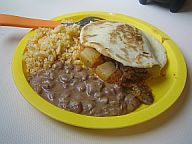 Beef and Potato Gordita