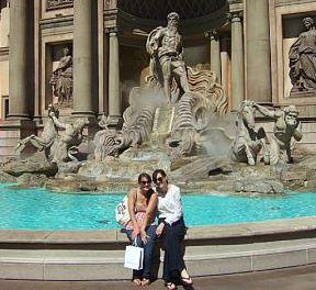 Fountain at Caesars Palace