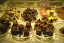 Pastries at the Wynn