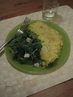 Omlette e Salat