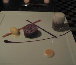 Dessert Course at Bastide