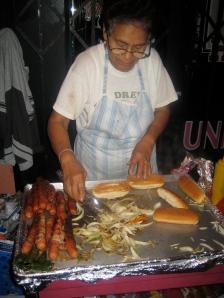 Bacon Wrapped Hot Dog