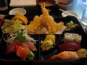 Sushi in Little Tokyo