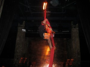 Acrobat at The Edison