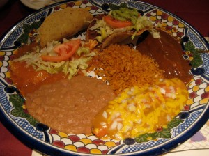 Platter from El Bosque