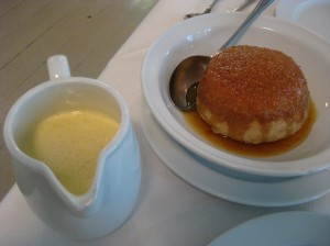 Treacle Pudding at St John's