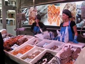San Sebatsian Fish Market