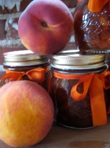 caramel peach jam