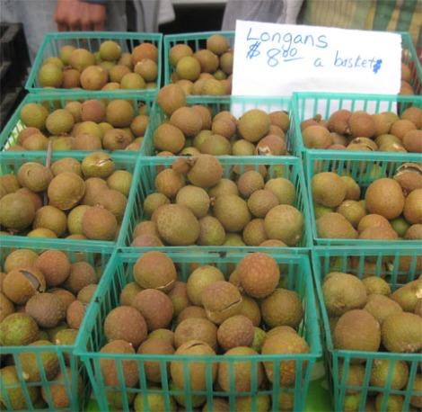 Longan fruit from Mud Creek Ranch